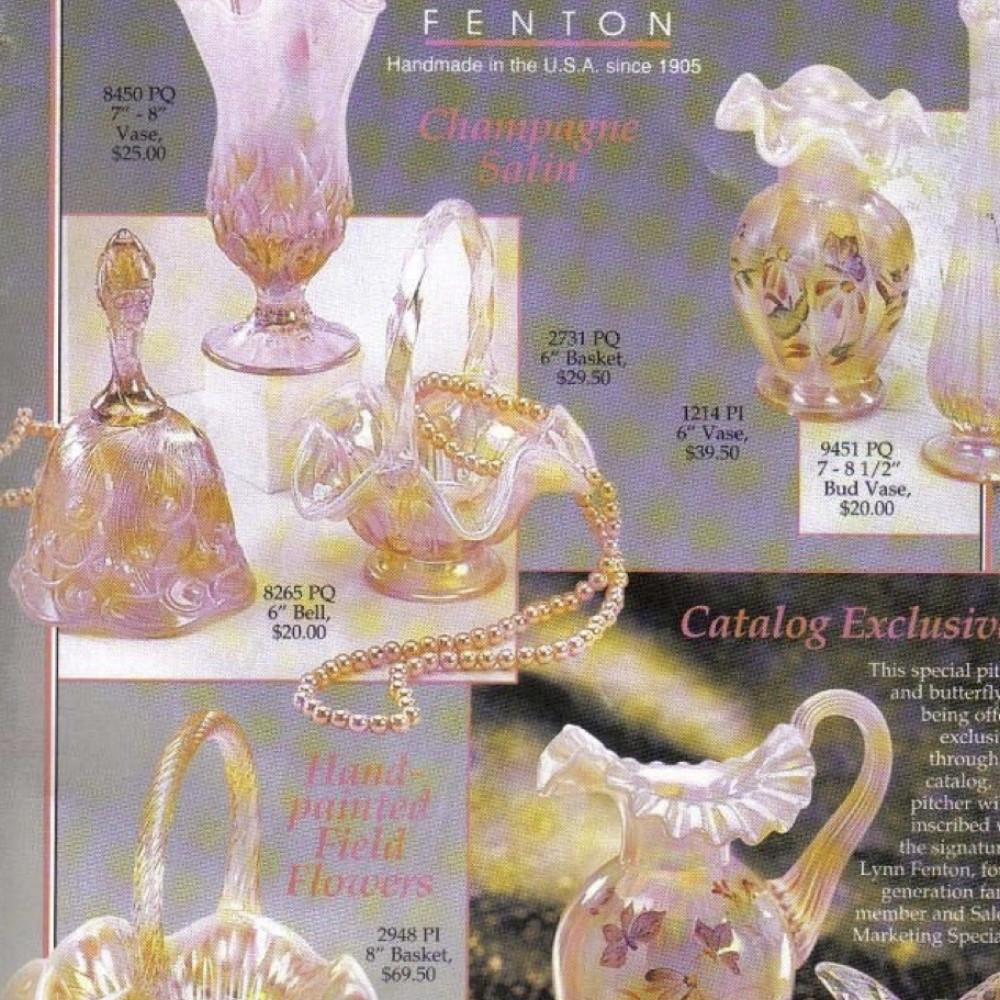 fenton hobnail bud vase of fenton catalogs 90s sgs with 1997 dealer catalog