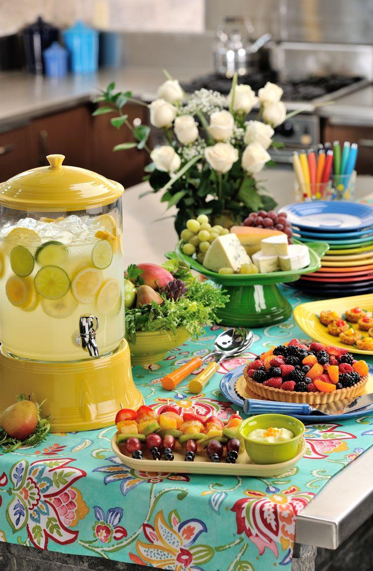 fiestaware millennium vase of 174 best fiesta ware images on pinterest fiesta ware table inside the beautifully bright colors of fiesta dinnerware add cheer to a buffet