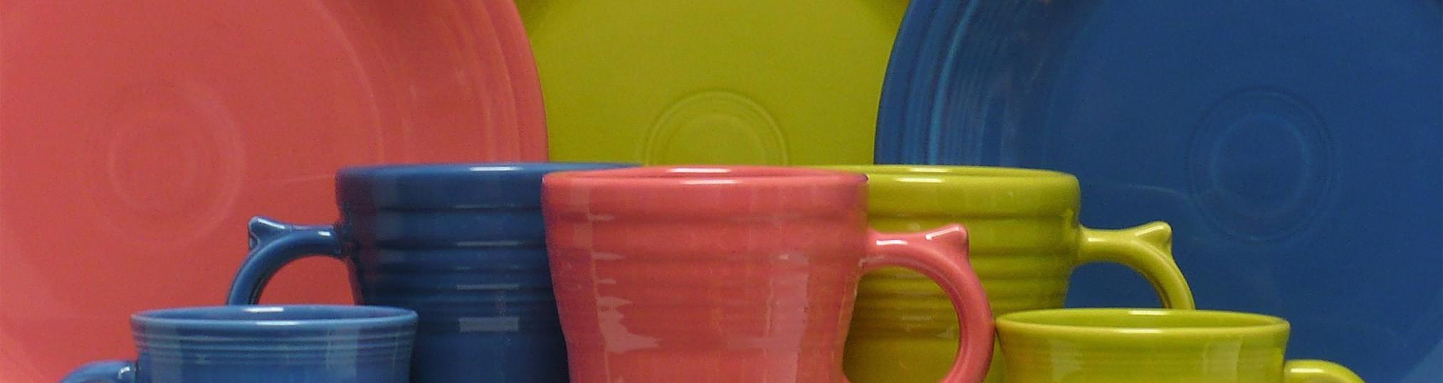 fiestaware millennium vase of flamingo fiestaa by color fiestawarestore com throughout flamingo