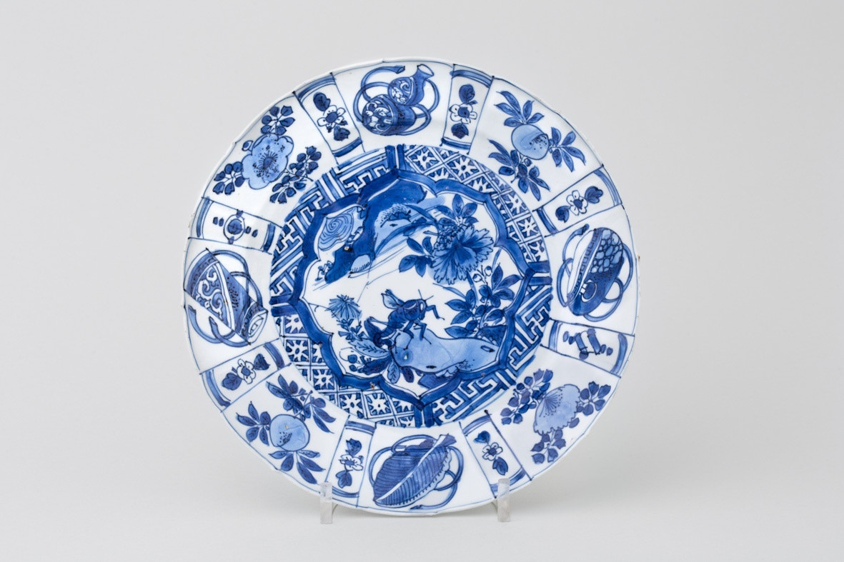 fine china vase of a fine chinese blue and white kraak plate early 17th century regarding a fine chinese blue and white kraak plate