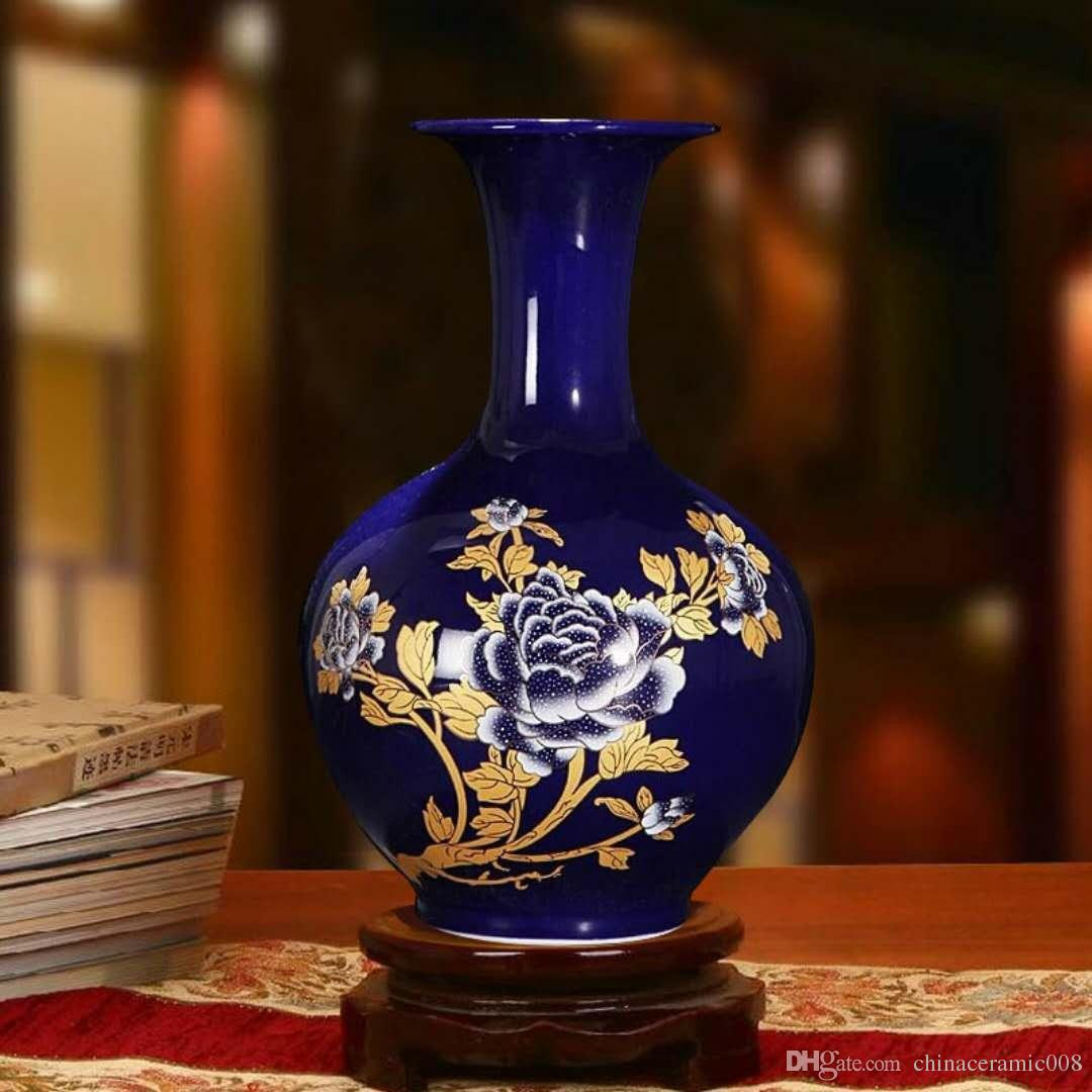 Fine China Vase Of Peonies Antique Vases Modern Home Fashion Decorations Jingdezhen Throughout Peonies Antique Vases Modern Home Fashion Decorations Jingdezhen Porcelain Vases