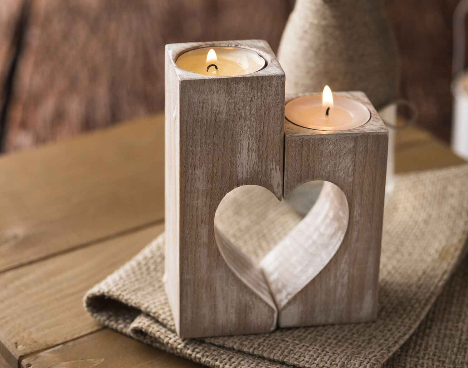 floating candle vases uk of 37 beautiful christmas tea light holders creative lighting ideas with wooden candle holders rustic heart candle holders decorative candle holder valentine s day t ideas birthday