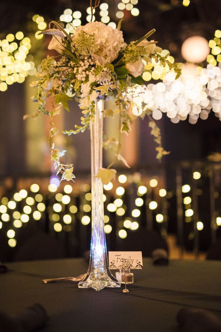 19 Recommended Floral Lights for Eiffel tower Vases