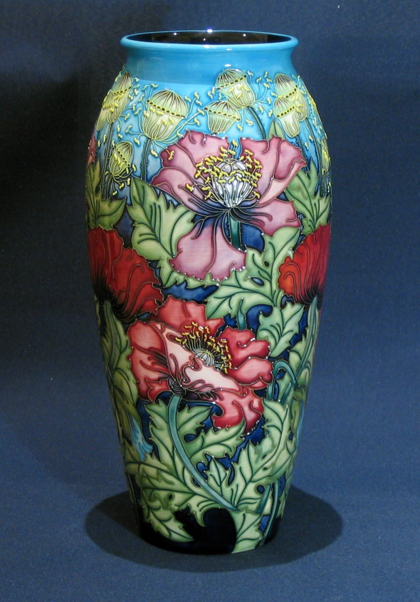 florian ware vase of special spring offer 40 off moorcroft pottery from the treehouse within special spring offer 40 off moorcroft pottery from the treehouse collection