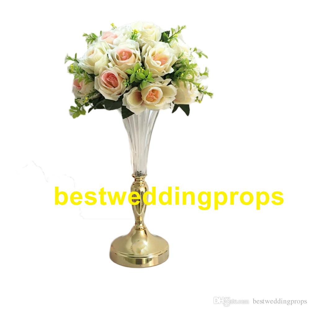 Flower Arrangements for Tall Narrow Vases Of Gold Crystal Cylinder Glass Vases for Home Wedding Centerpieces with Regard to to Make then Taller According the order You Place Here is Picture About 37cm and 51 Cm Tall Other Size Need to Add the Parts to Make then Taller