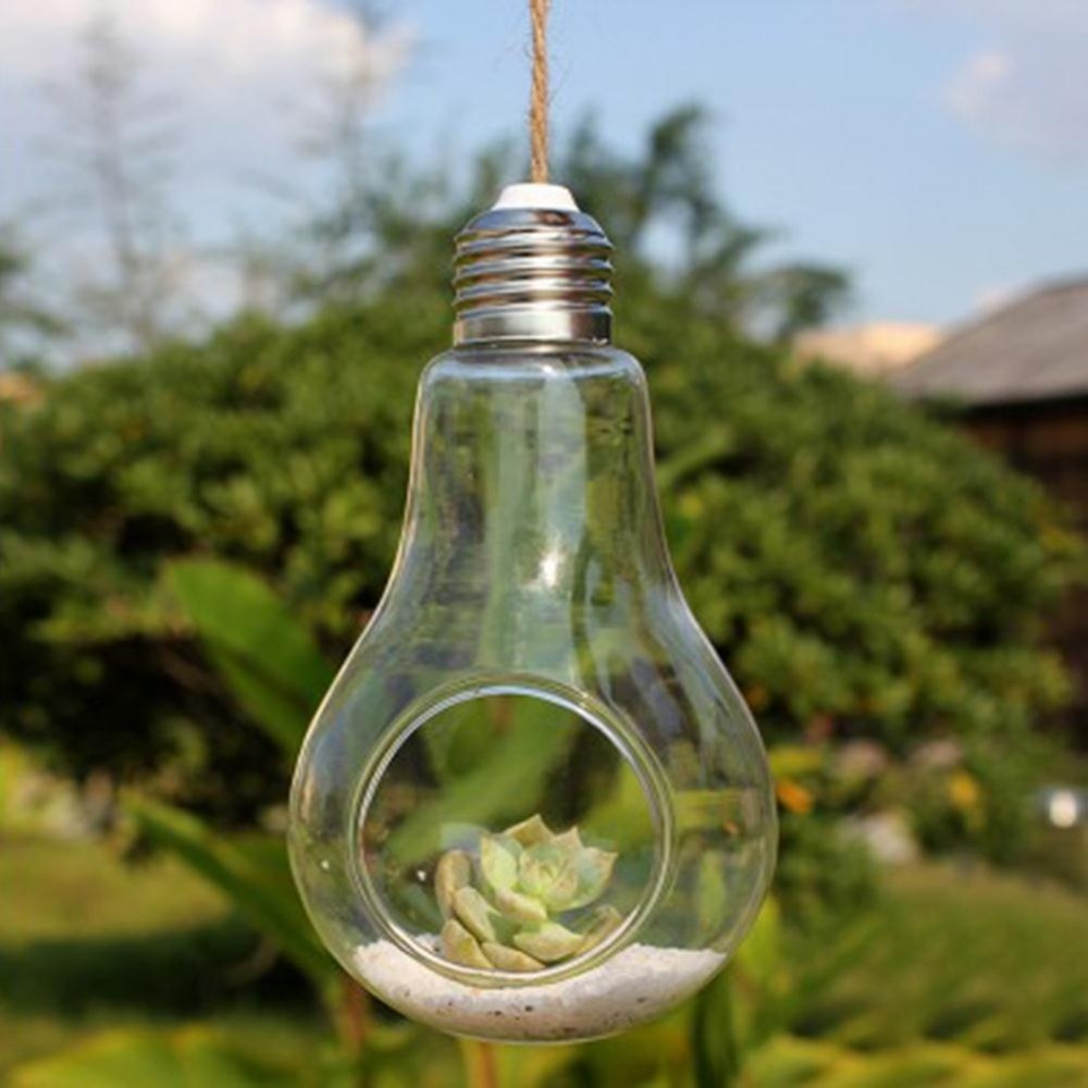 flower bulb vase of bulb lamp shape glass vase hanging bottle terrarium hydroponic with regard to bulb lamp shape glass vase hanging bottle terrarium hydroponic container pot flower vase dec