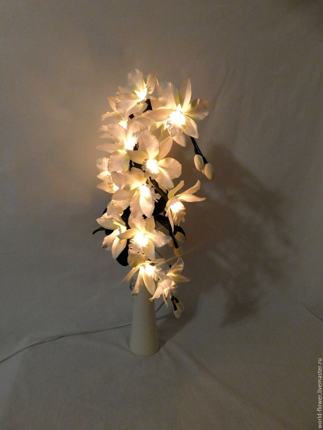 flower lights in vase of bouquet lamp white orchid 3 twigs vase swan shop online on regarding order bouquet lamp white orchid 3 twigs vase swan