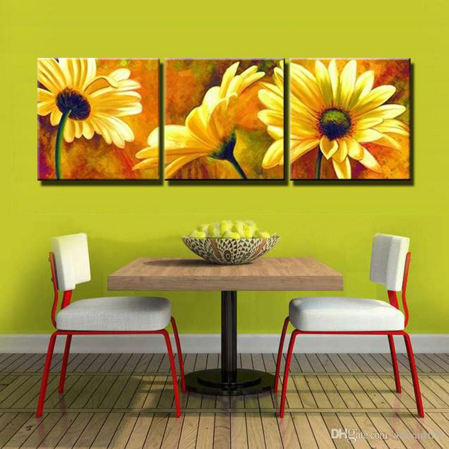 flower vase canvas painting of 100 hand painted oil wall art yellow flowers picture chrysanthemum regarding 100 hand painted oil wall art yellow flowers picture chrysanthemum home decoration abstract landscape oil painting on canvas flowers picture paintings on