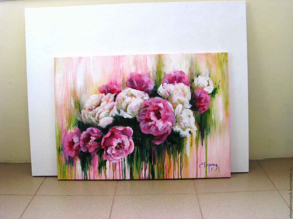 flower vase canvas painting of luxury original acrylic painting on canvas peonies flowers wall dec intended for luxury original acrylic painting on canvas peonies flowers wall dec shop of luxury original acrylic