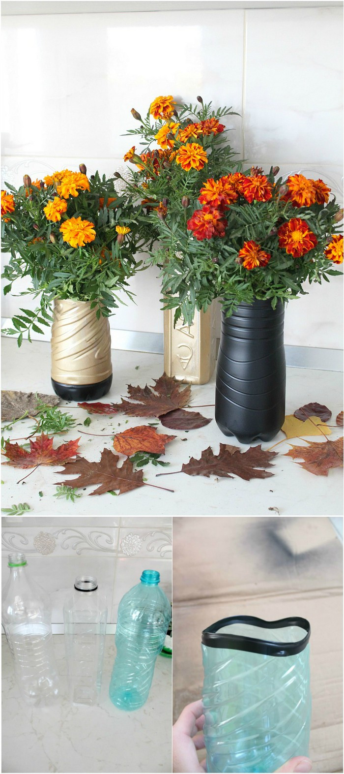 flower vase design plastic bottle of creative plastic bottle crafts ideas that will amaze you• diy crafts in plastic bottle crafts