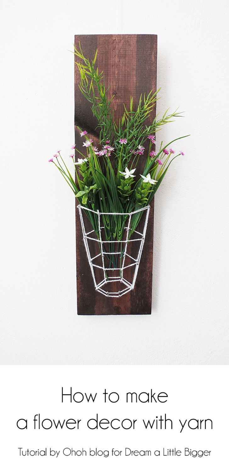 flower vase homemade of how to make a yarn vase top influential bloggers pinterest within how to make a yarn vaseflower diy vase yarn craft
