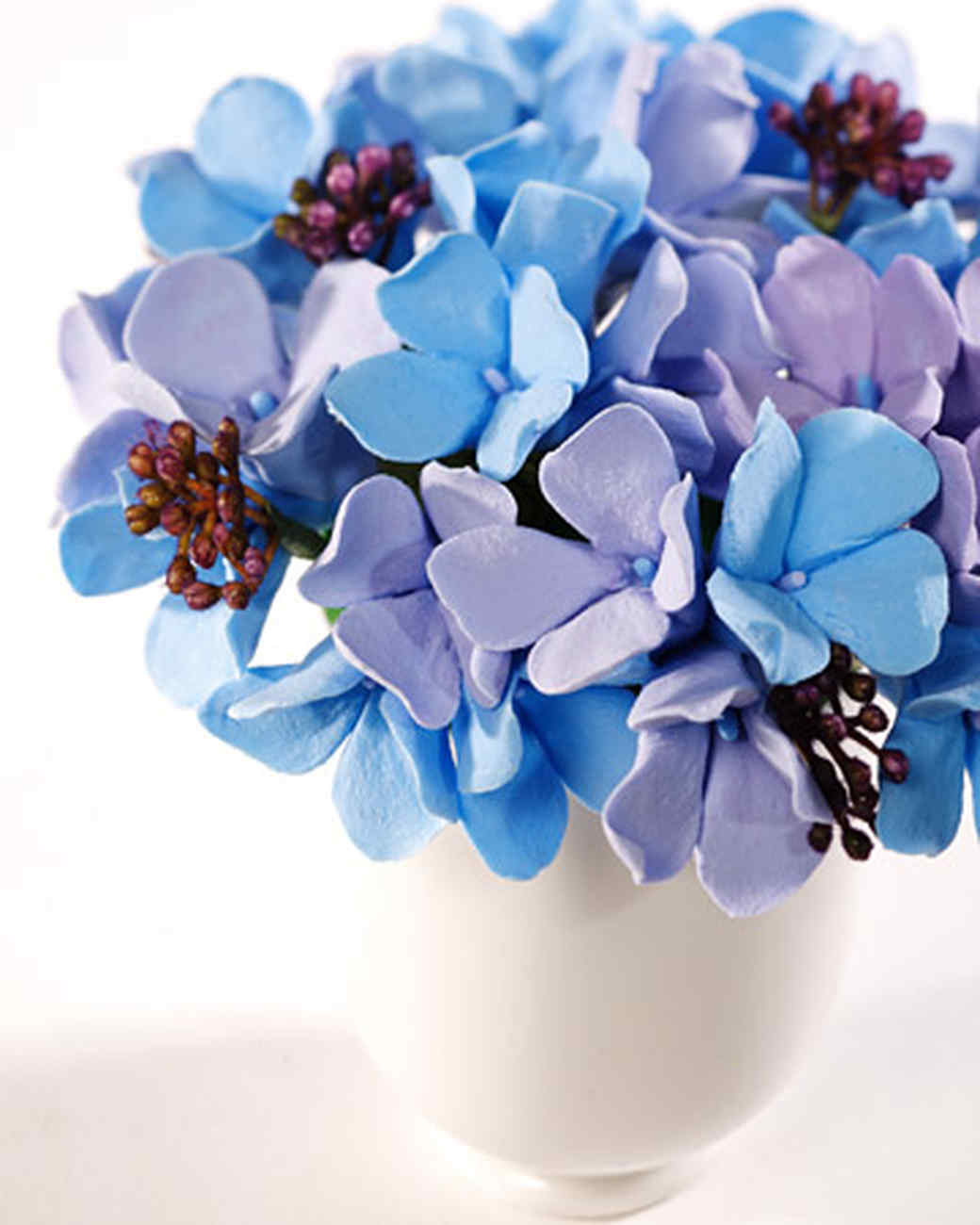 flower vase water beads of clay flowers video martha stewart with regard to clay flowers