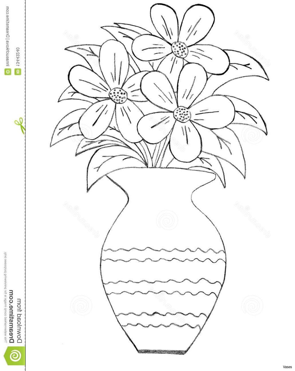 flower vase watercolor of flower drawing steps at getdrawings com free for personal use regarding 1035x1300 how to draw a vase step 2h vases by stepi 0d vise drawing