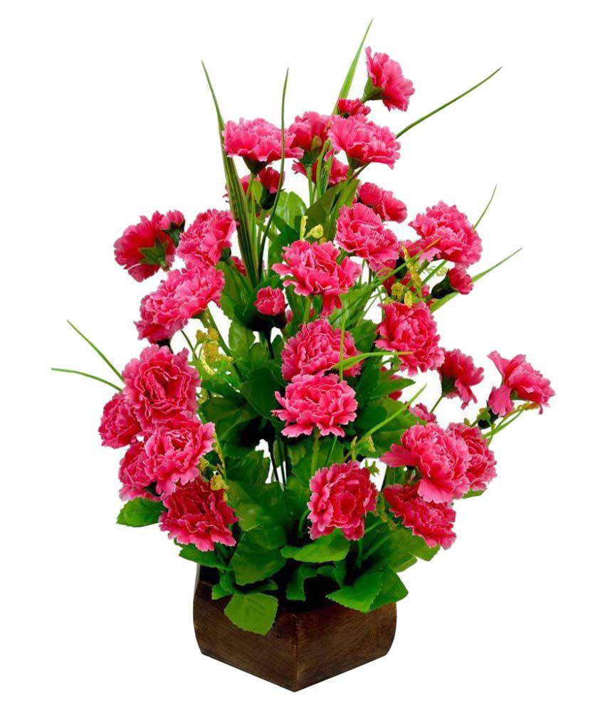 Flower Vase with Artificial Flowers Online Shopping Of Hyperboles Red Artificial Flower with Pot Buy Hyperboles Red within Hyperboles Red Artificial Flower with Pot