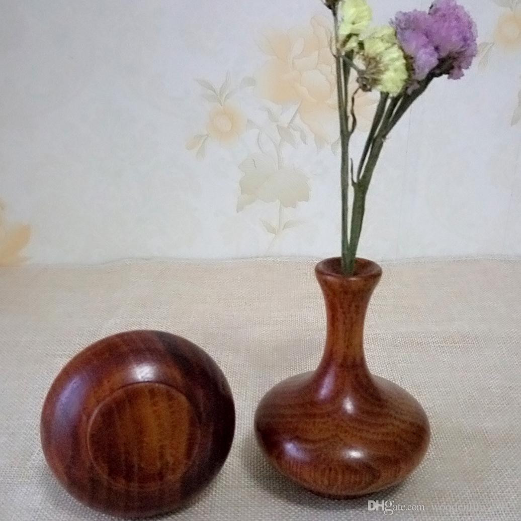 flowers in round vase of small wooden flower vase retro home decoration table decoration with small wooden flower vase retro home decoration table decoration accessories handmade craft