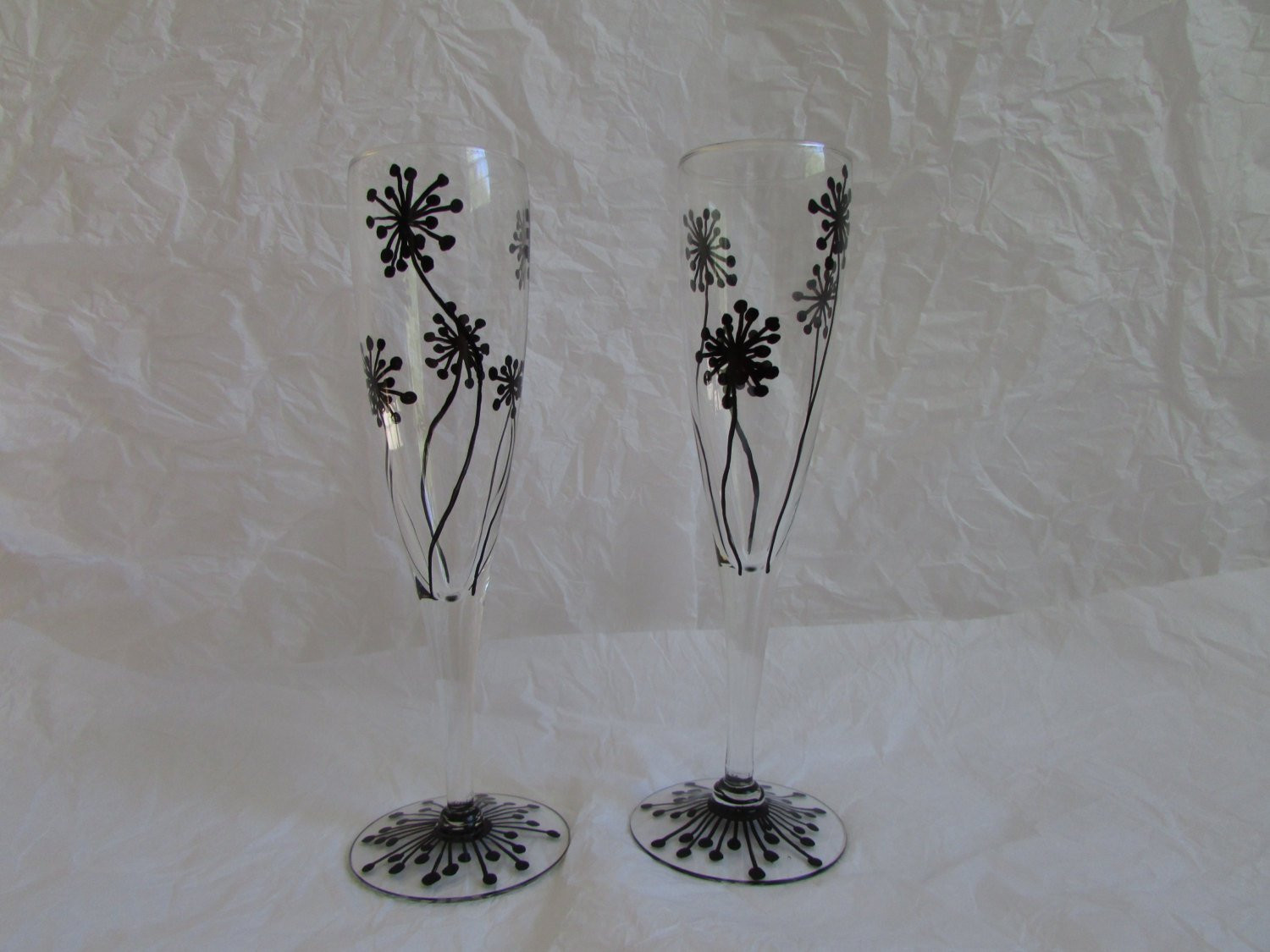 "fluted glass bud vase of champagne glass hand painted champagne glasses flutes within dŸ""Žzoom"