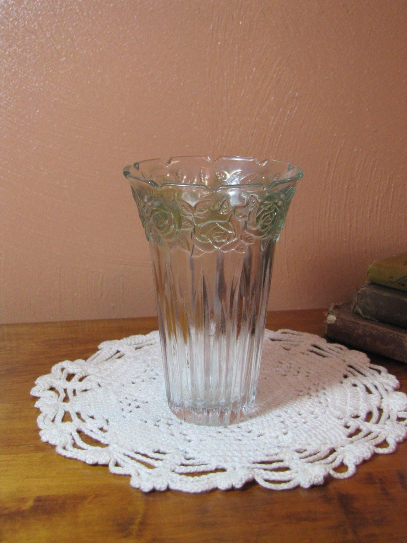 """fluted glass bud vase of vintage parka glass vase etsy intended for dŸ""""Žzoom"""