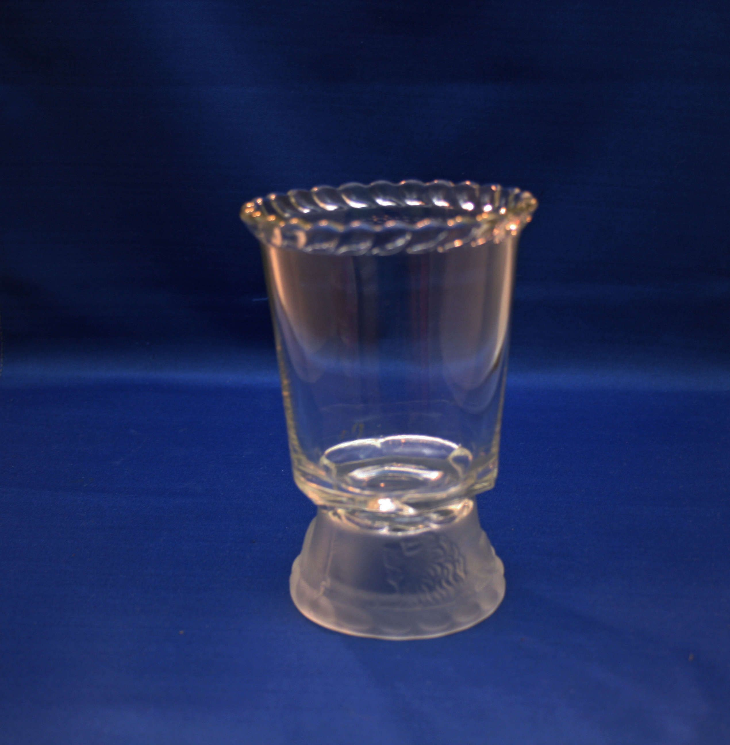 fluted glass vase of antique eapg gillinder and sons frosted lions spooner circa 1876 with visit