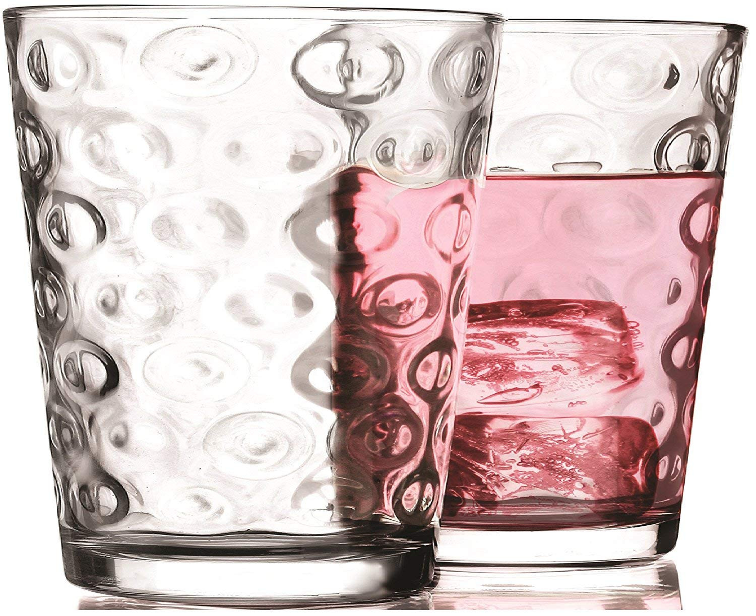 footed clear glass vase of amazon com circleware 44516 circles drinking glassware products throughout amazon com circleware 44516 circles drinking glassware products clear mixed drinkware sets