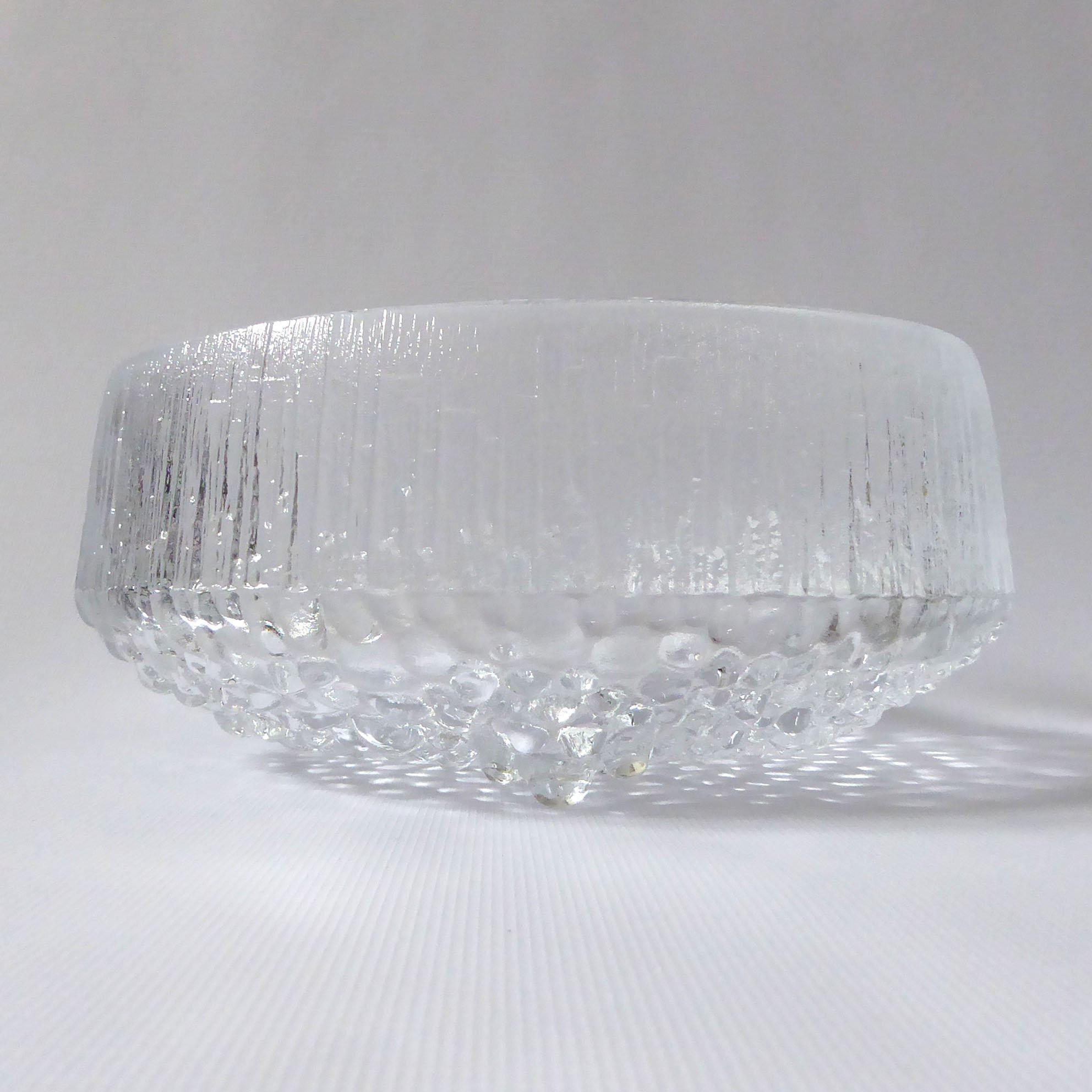 "footed clear glass vase of tapio wirkkala iittala ultima thule large glass fruit salad etsy inside dŸ""Žzoom"