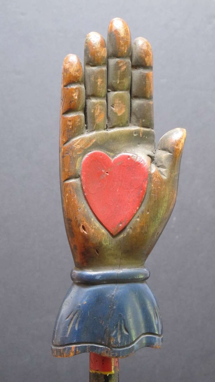 fornasetti perpetual face vase of 103 best hands down images on pinterest art illustrations charms with painted wood heart in hand from an ohio fraternal lodge the folk sculpture would have