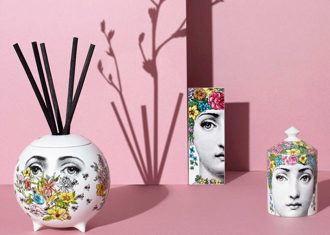 30 Great fornasetti Vases for Sale