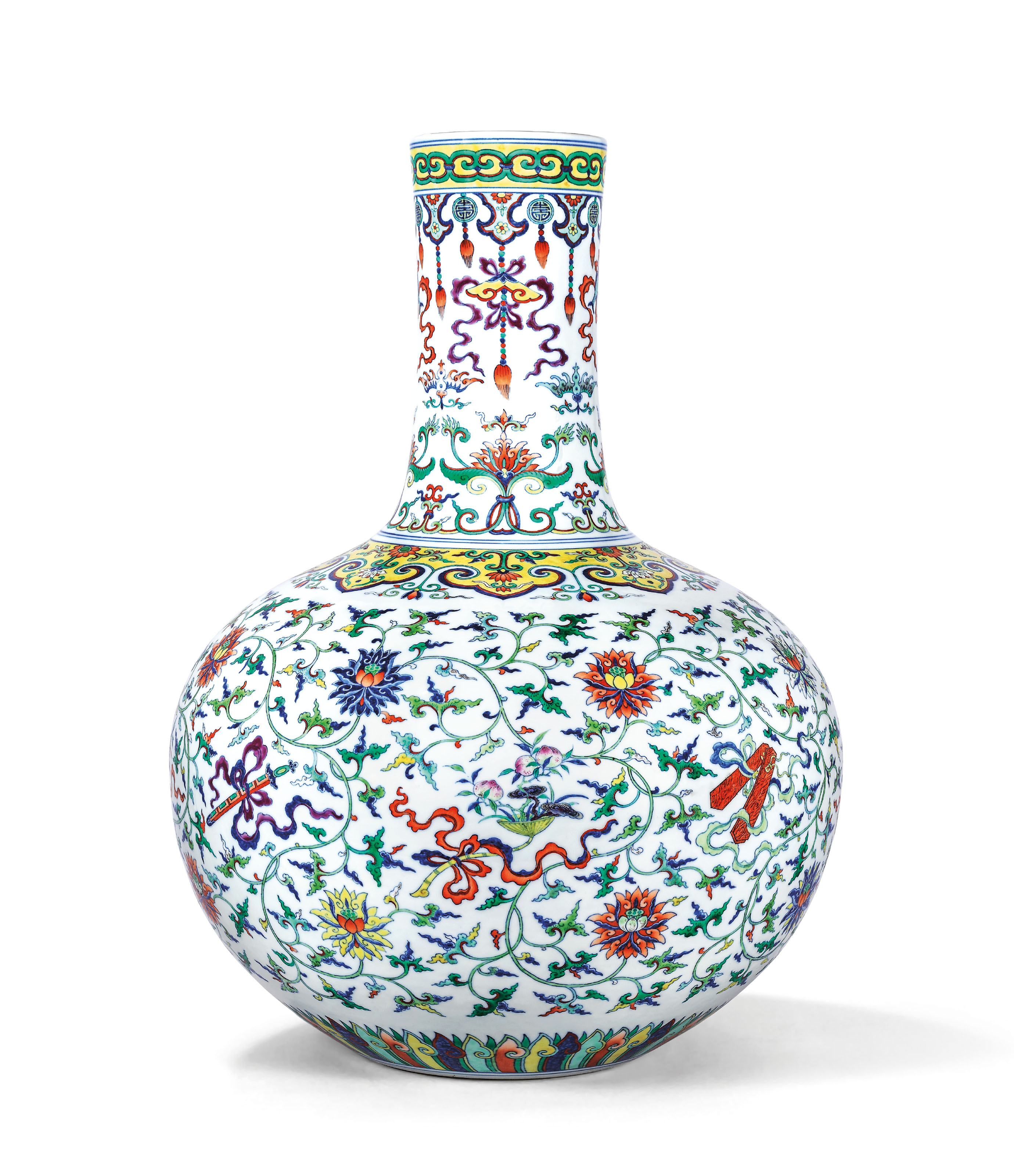 franklin porcelain woodland bird vase of chinese art pertaining to this rare chinese vase languished in storage at an oklahoma museum for over a decade then it sold for 14 5 million