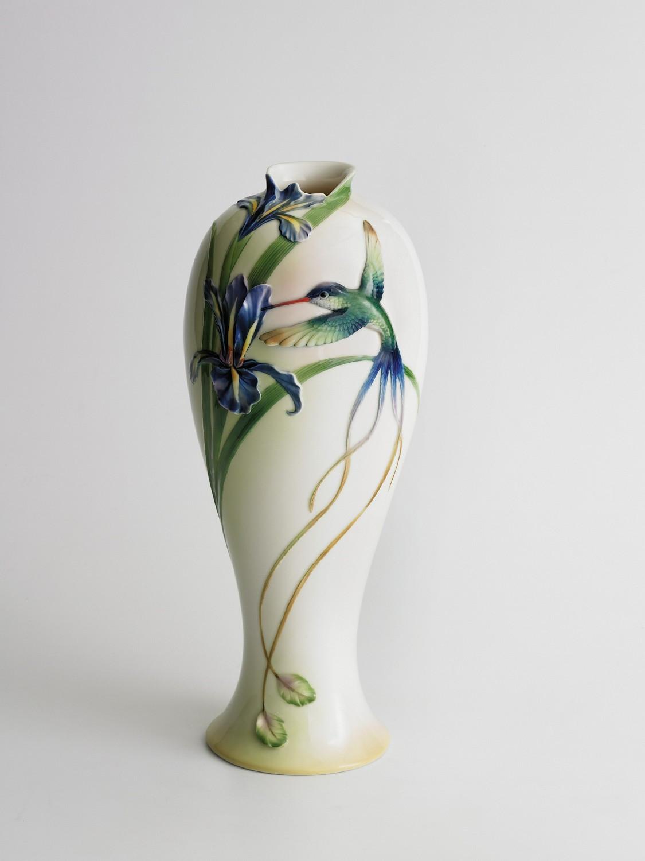 franz porcelain butterfly vase of franz porcelain long tail hummingbird collection vase fine porcelain with franz porcelain long tail hummingbird collection vase fine porcelain enlarge image a· send ecard