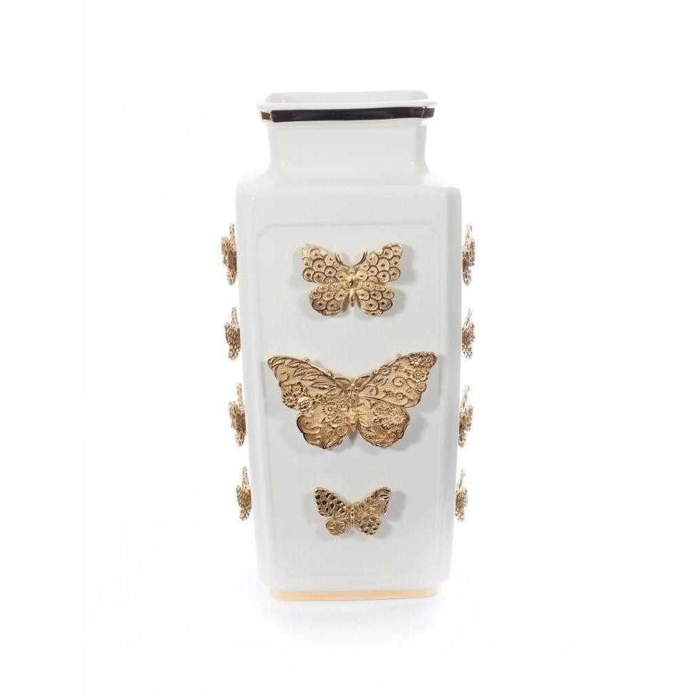 franz porcelain butterfly vase of jay strongwater bowls jars vases biggs ltd throughout jay strongwater myra porcelain rectangular butterfly vase sdh2437 292