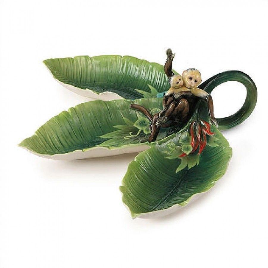 franz porcelain hummingbird vase of kathy ireland home by franz collection jungle funporcelain tidbit for kathy ireland home by franz collection jungle funporcelain tidbit dish fz02009