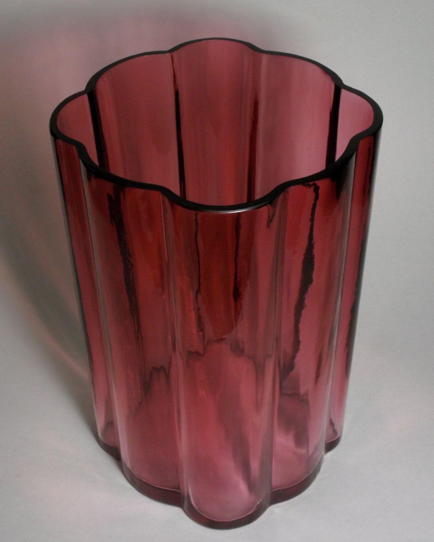 fuschia glass vase of danish modern jen quistgaard fuschia art glass 8 arc centerpiece in danish modern jen quistgaard fuschia art glass 8 arc centerpiece vase by treasures1st on etsy