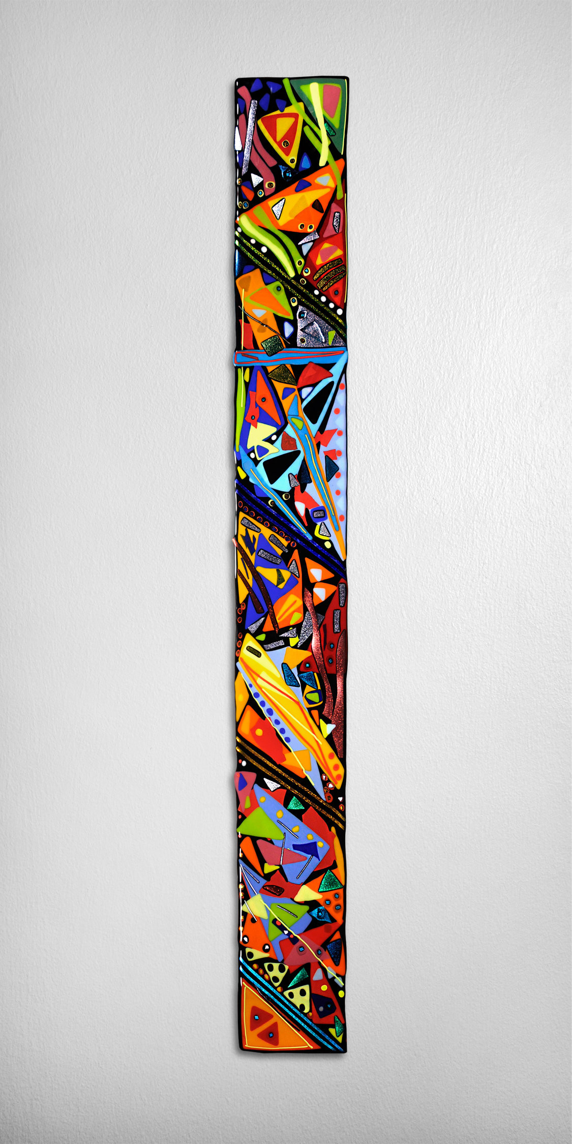 fused glass wall vase of helen rudy glass artist artful home regarding mardi gras wall panel by helen rudy art glass wall sculpture