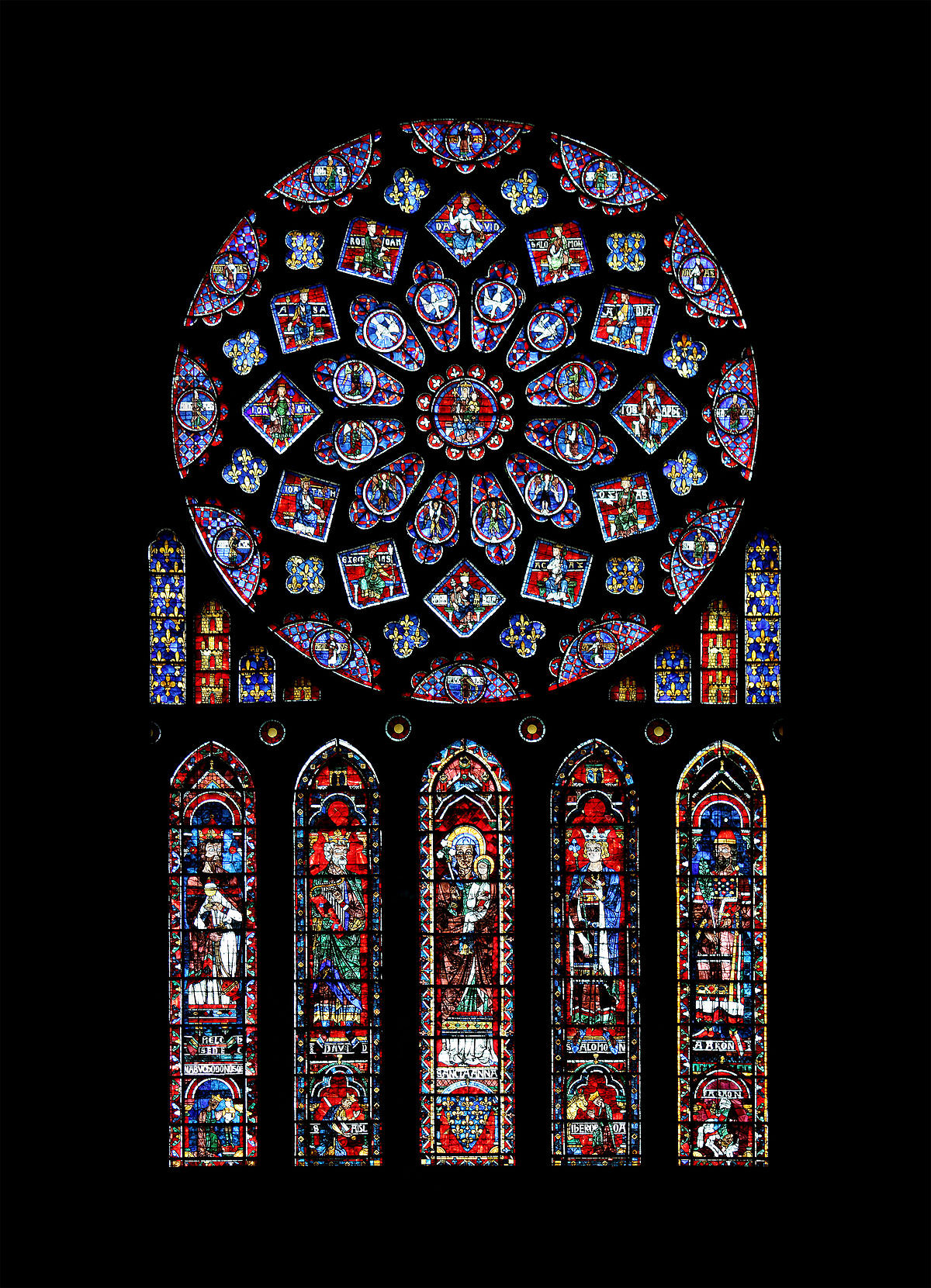 fused glass wall vase of stained glass wikipedia intended for 1200px chartres cathedrale rosace nord