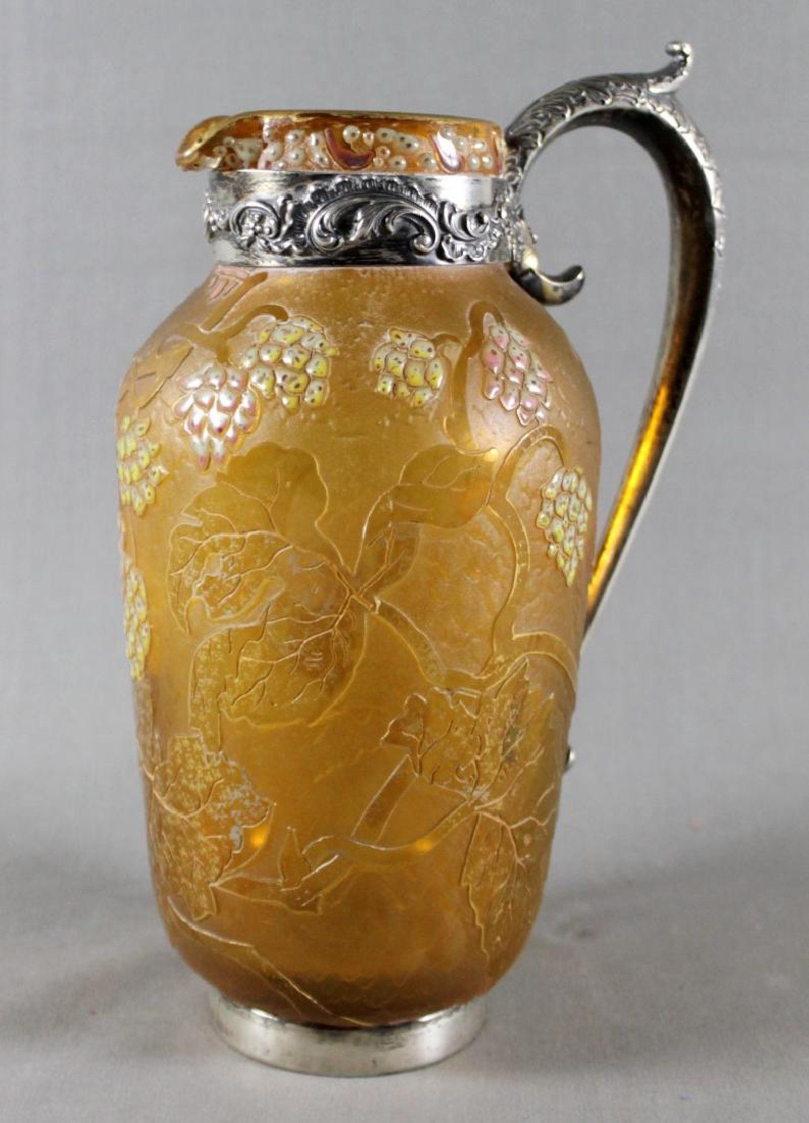 galle vase prices of daum nancy vase w silver handles and mounts daum pinterest within daum nancy vase w silver handles and mounts