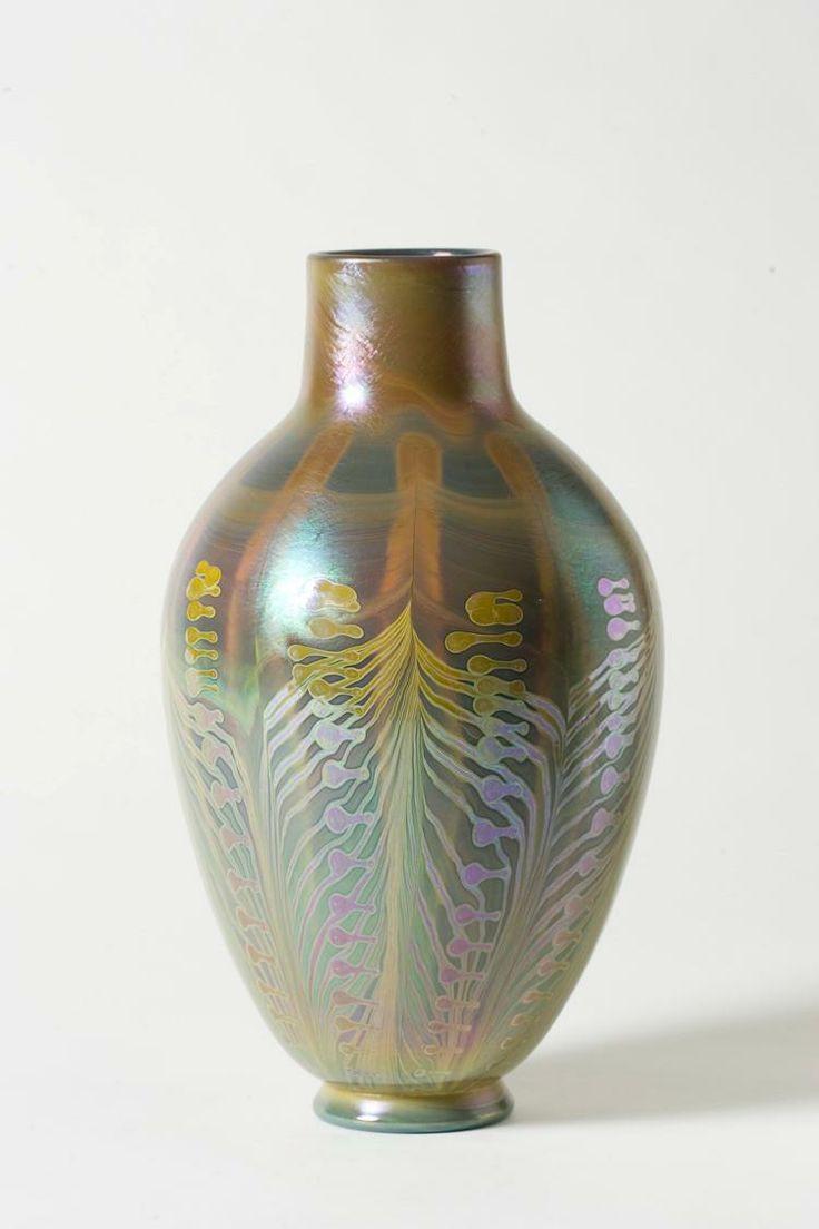 galle vase value of 2093 best art glass images on pinterest art nouveau glass vase for tiffany studios new york iridescent favrile glass vase