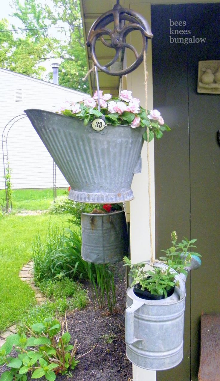 Galvanised Flower Vase Of 67 Best Wire and Metal Images On Pinterest Kitchen Home and with Regard to Flower Planters