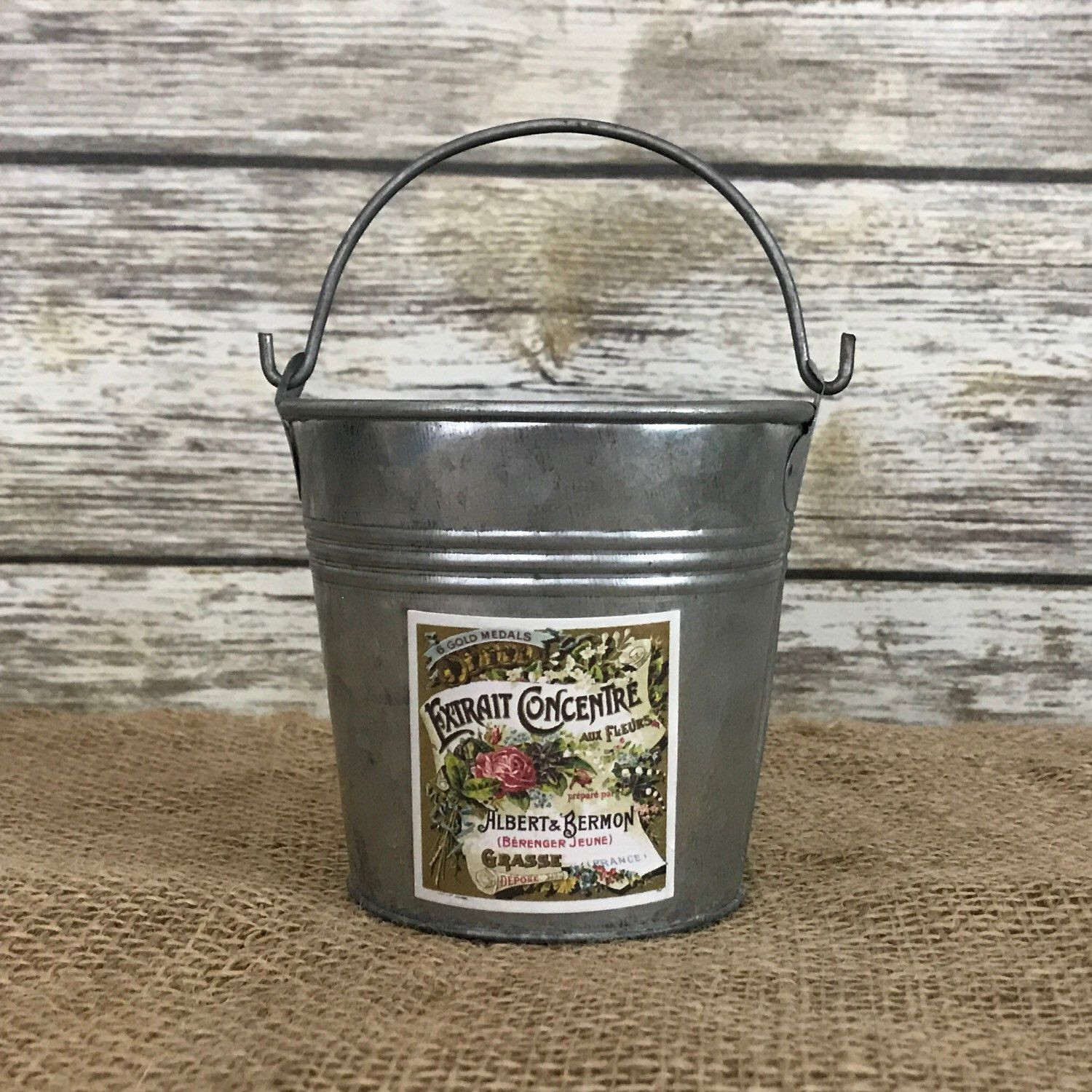 galvanized pitcher vase of small galvanized bucket perfect for makeup brush container and regarding small galvanized bucket perfect for makeup brush container and other items on your vanitydŸ'""