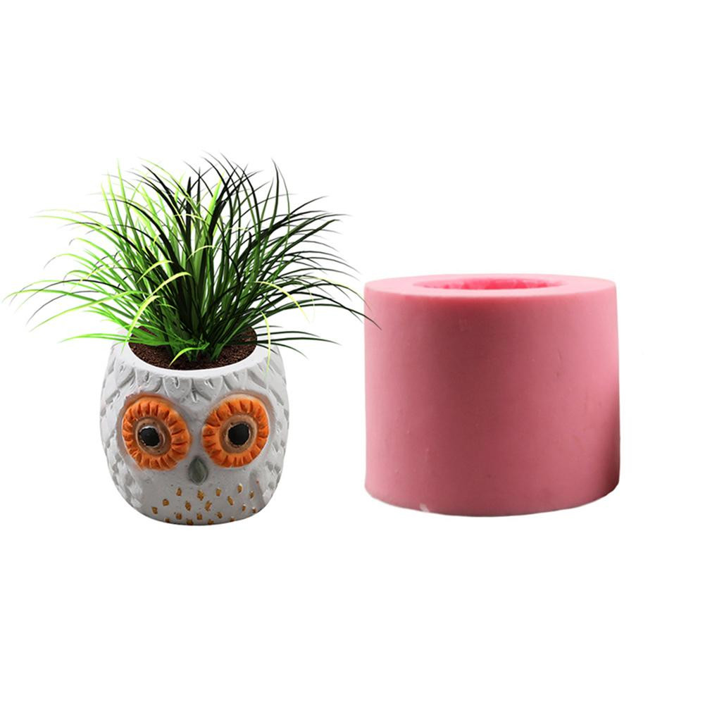 Geometric Wire Vase Of Diy 3d Vase Mold Silicone Animals Pattern Flower Pot Owl Shaped Inside Diy 3d Vase Mold Silicone Animals Pattern Flower Pot Owl Shaped Concrete Pot Molds Concrete Mold In Clay Molds From Home Garden On Aliexpress Com