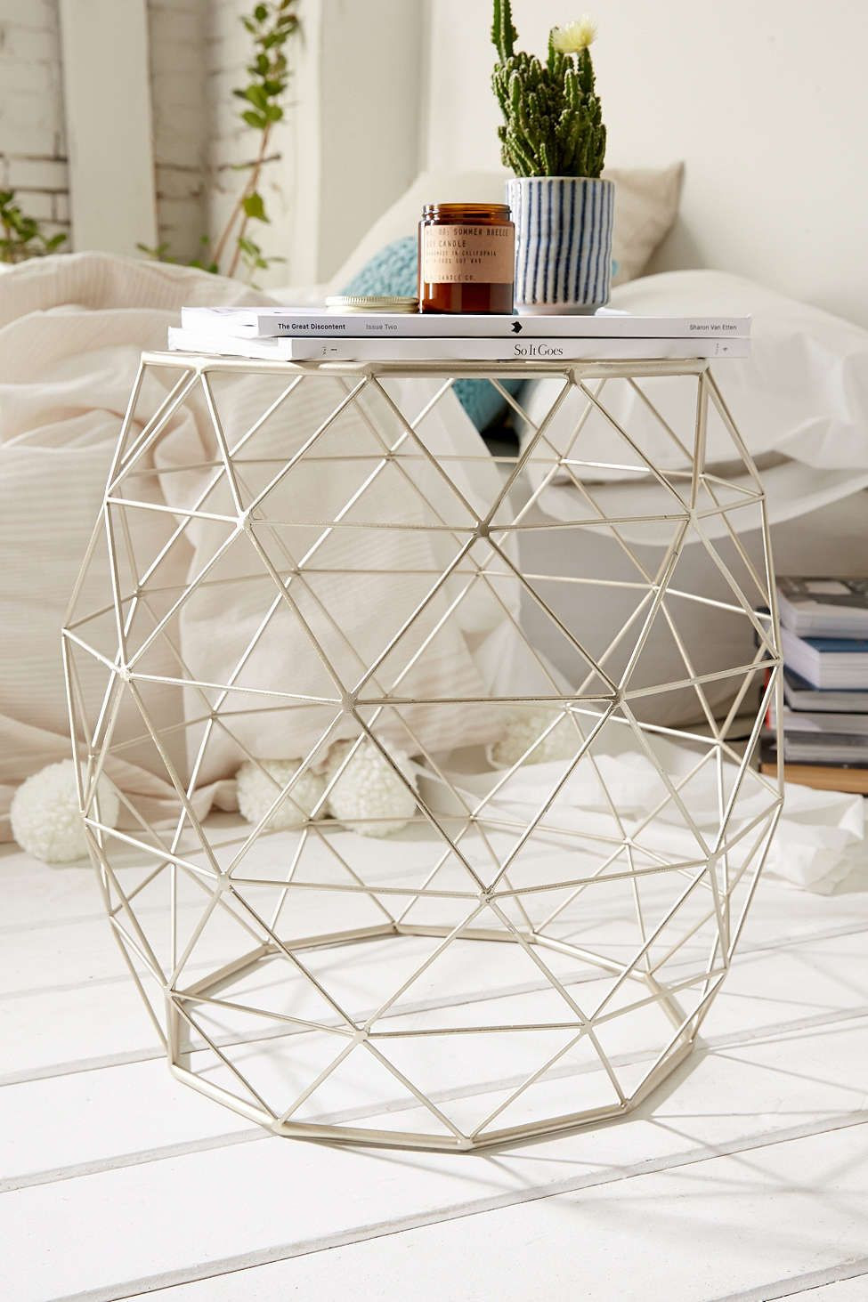 28 Perfect Geometric Wire Vase 2021 free download geometric wire vase of geometric metal side table uohome pinterest metal side table in geometric metal side table urban outfitters