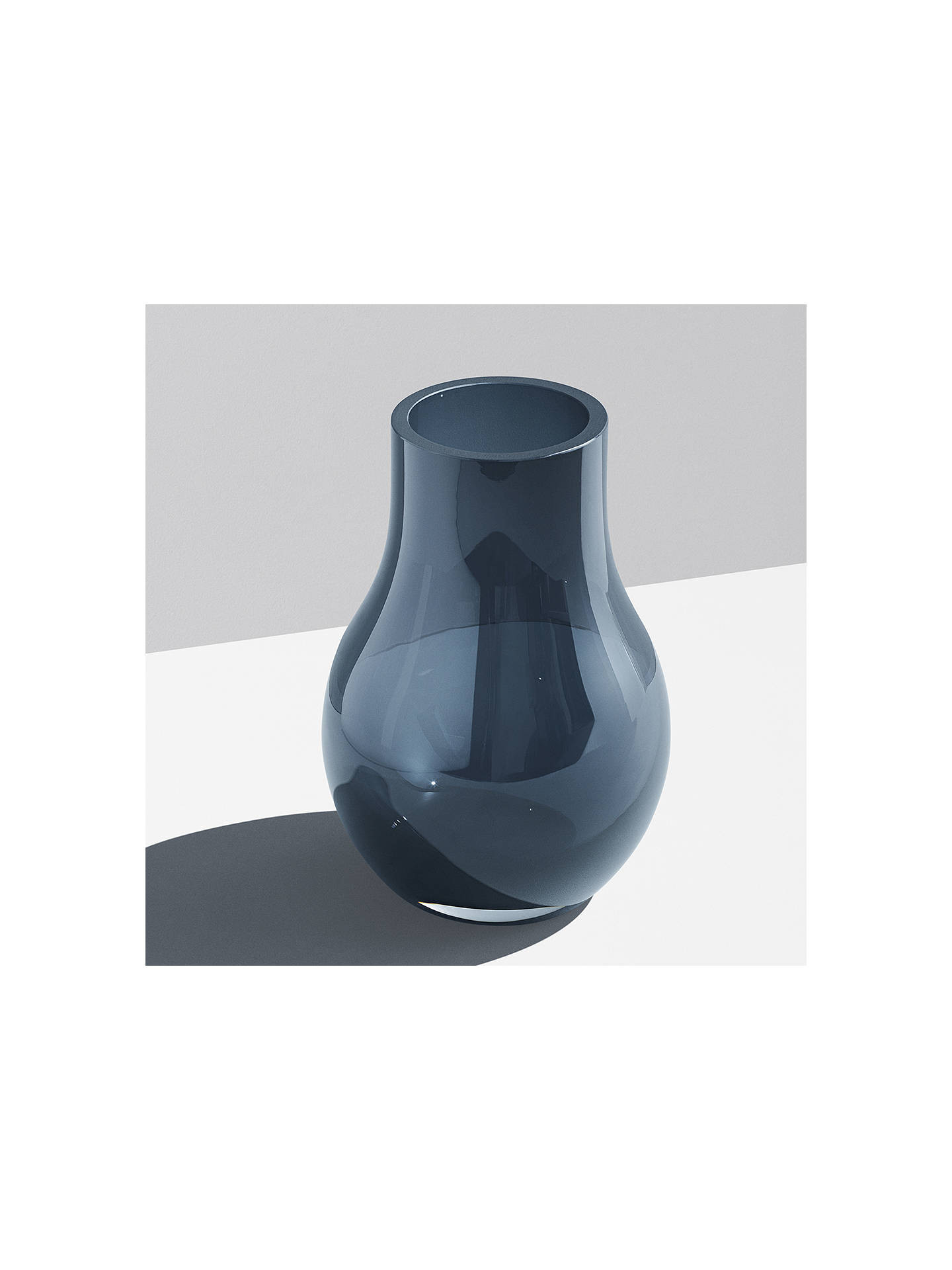 georg jensen green vase of georg jensen cafu vase blue h21 6cm at john lewis partners within buygeorg jensen cafu vase blue h21 6cm online at johnlewis com