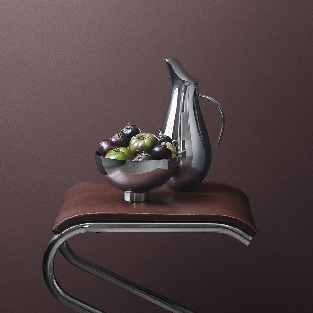 georg jensen ilse vase of buy georg jensen ilse pitcher stainless steel amara with regard to next