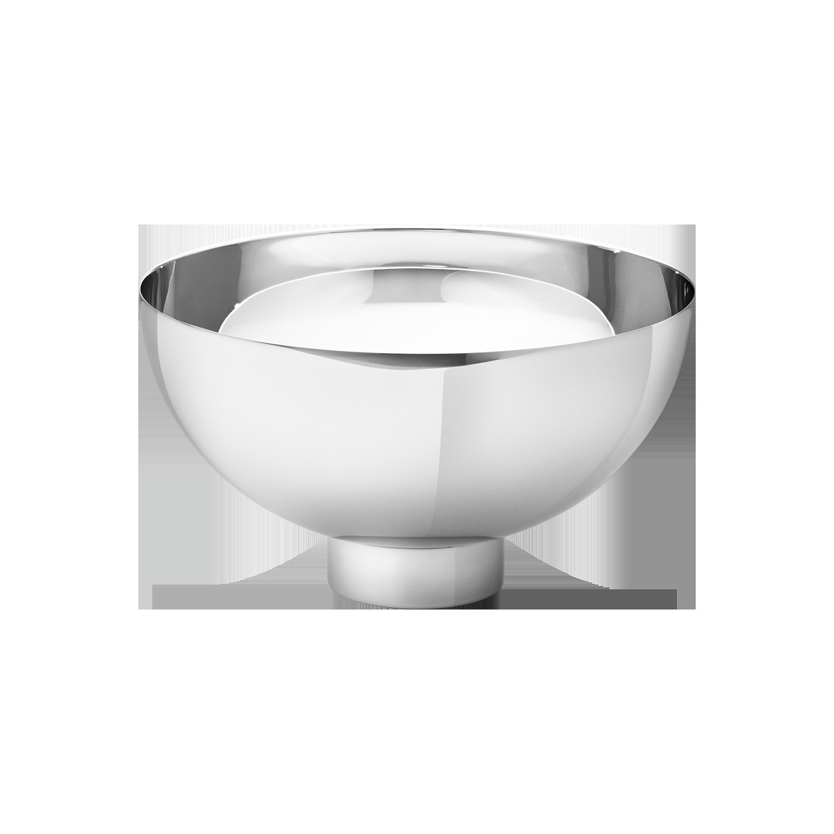 georg jensen ilse vase of ilse bowl medium within pack 3586643 ilse bowl ss mirror m