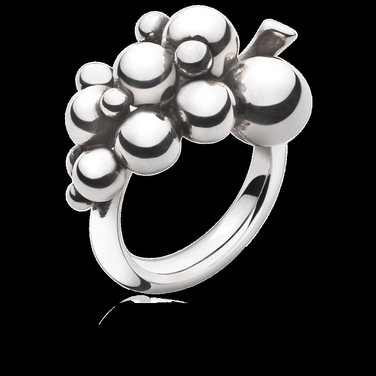 georg jensen indulgence vase of moonlight grapes ring in sterling silver small georg jensen throughout pack 3558680 1200 0