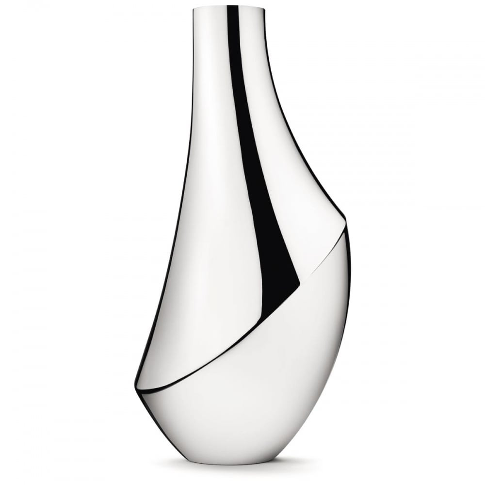 George Jensen Vase Of Georg Jensen Flora Vase Large Accessories From Francis Gaye Throughout Flora Vase Large