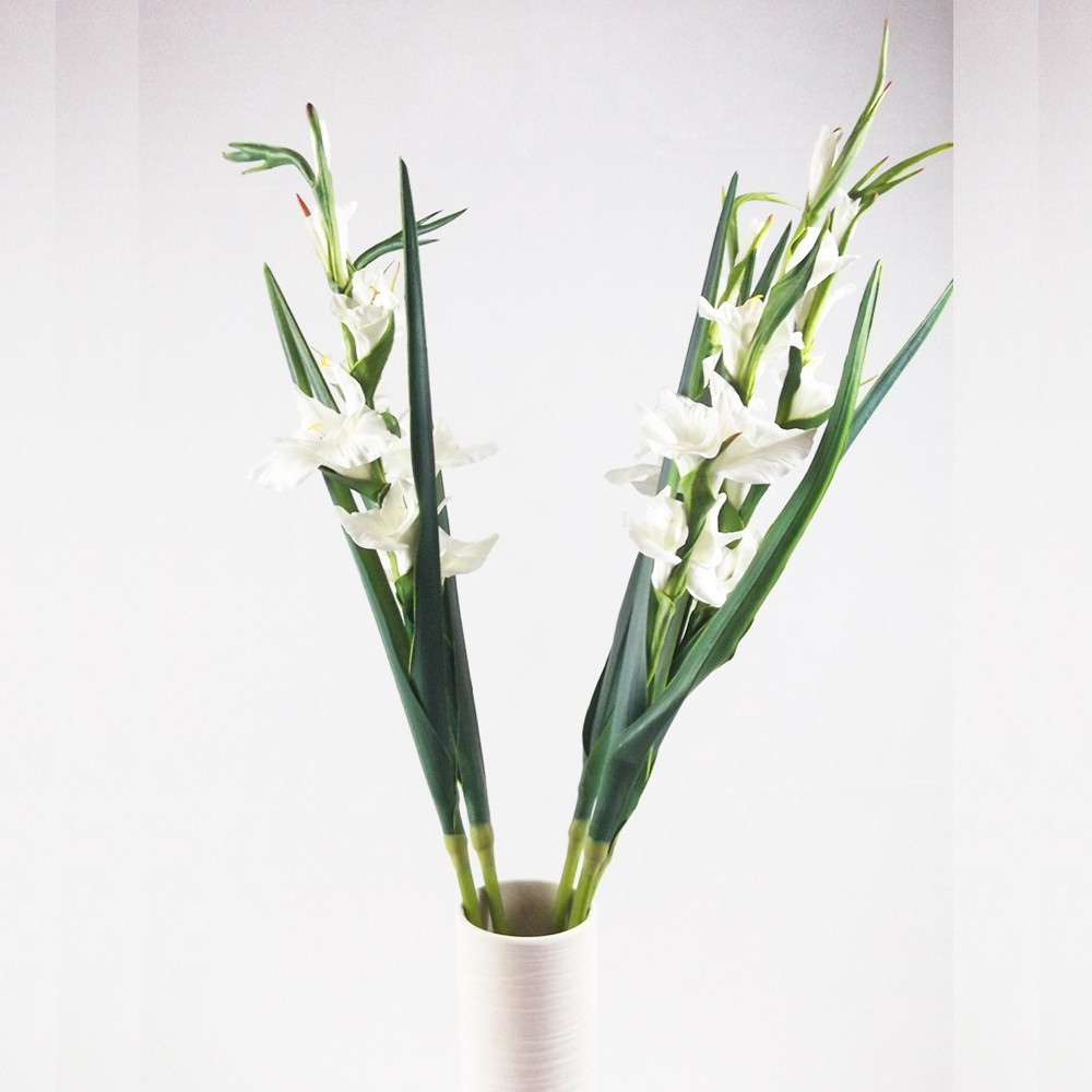 gladiolus vase for sale of pu artificial yellow gladiolus flowers fake gladiolus flowers with pertaining to fob ningbo port