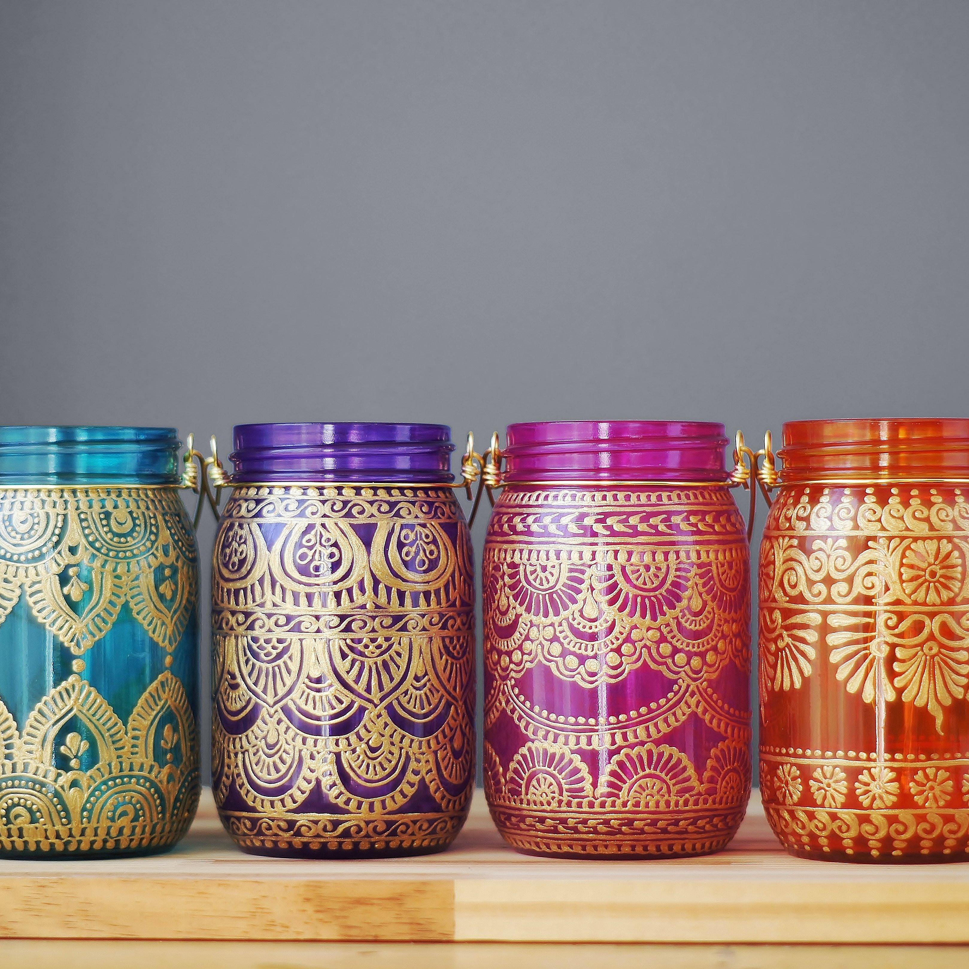 glass bud vase set of henna bud vase set moroccan decor bohemian glass vase best etsy with litdecor