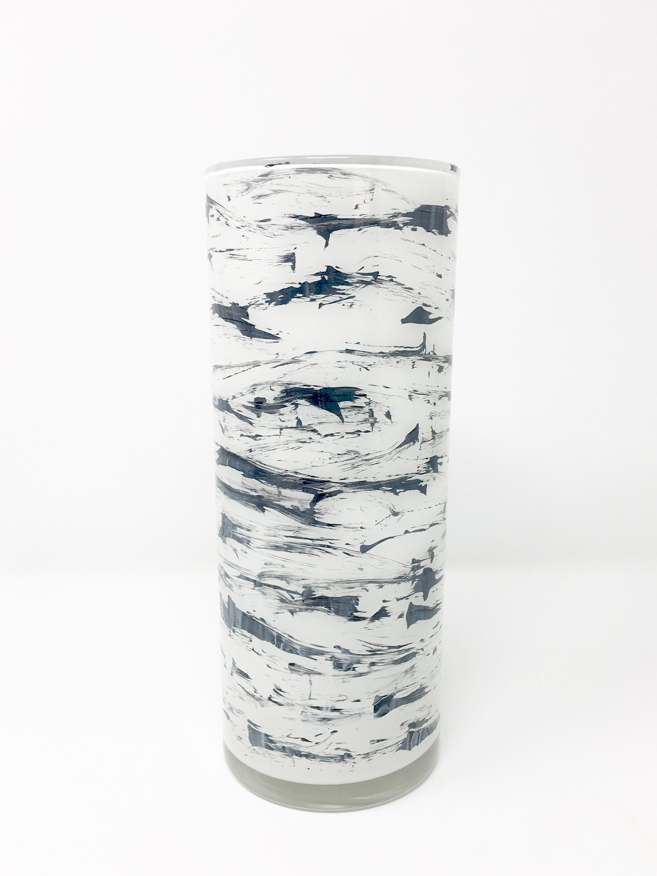 25 Famous Glass Cowboy Boot Vase 2021 free download glass cowboy boot vase of dark grey and white cylinder vase hand painted glass art etsy with regard to image 0