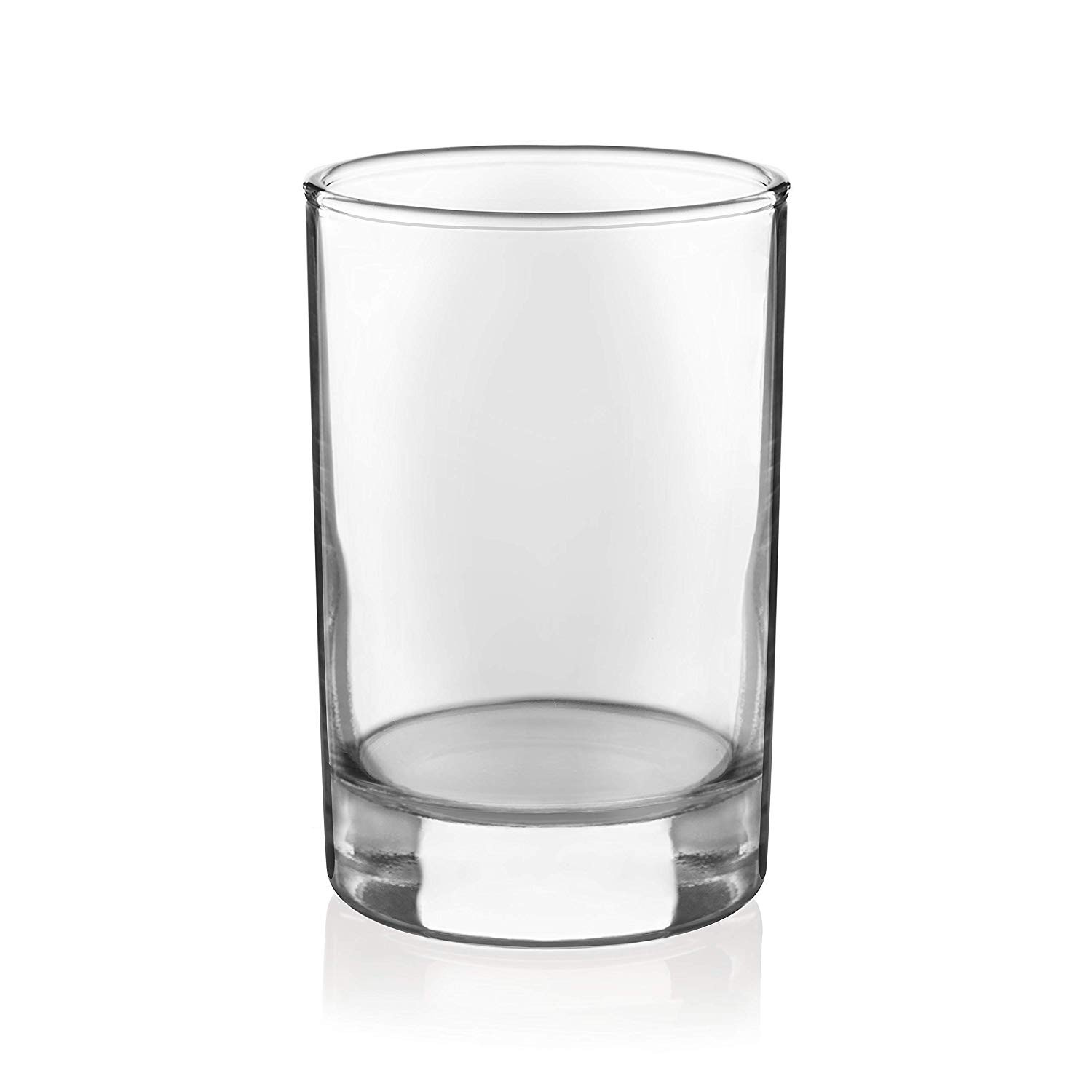 glass cylinder vase 12 x 5 of amazon com libbey 5 5 ounce heavy base juice glass set of 4 intended for amazon com libbey 5 5 ounce heavy base juice glass set of 4 mixed drinkware sets