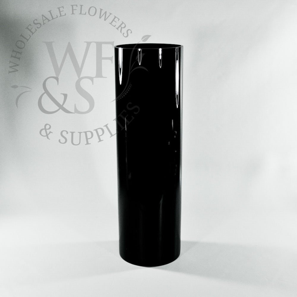 glass cylinder vases 20 of glass cylinder vases wholesale flowers supplies inside 20 x 6 black glass cylinder vase