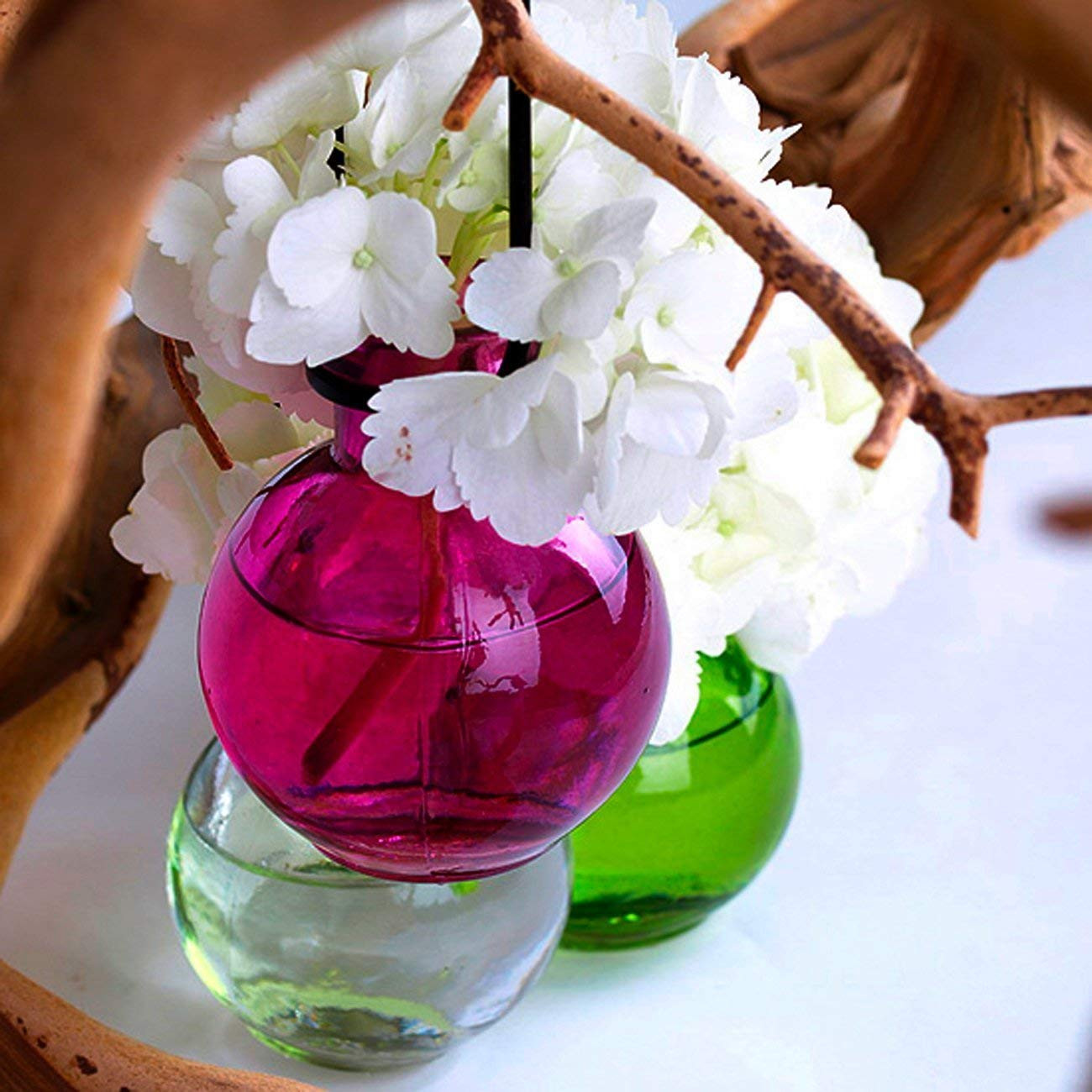 glass flower shaped bud vase of amazon com hanging flowers colored glass vase g70 clear 1 pc with amazon com hanging flowers colored glass vase g70 clear 1 pc colored glass bottle floral vas